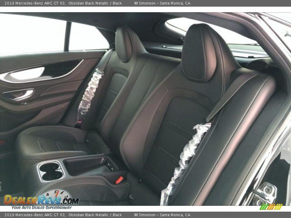 2019 Mercedes-Benz AMG GT 63 Obsidian Black Metallic / Black Photo #15