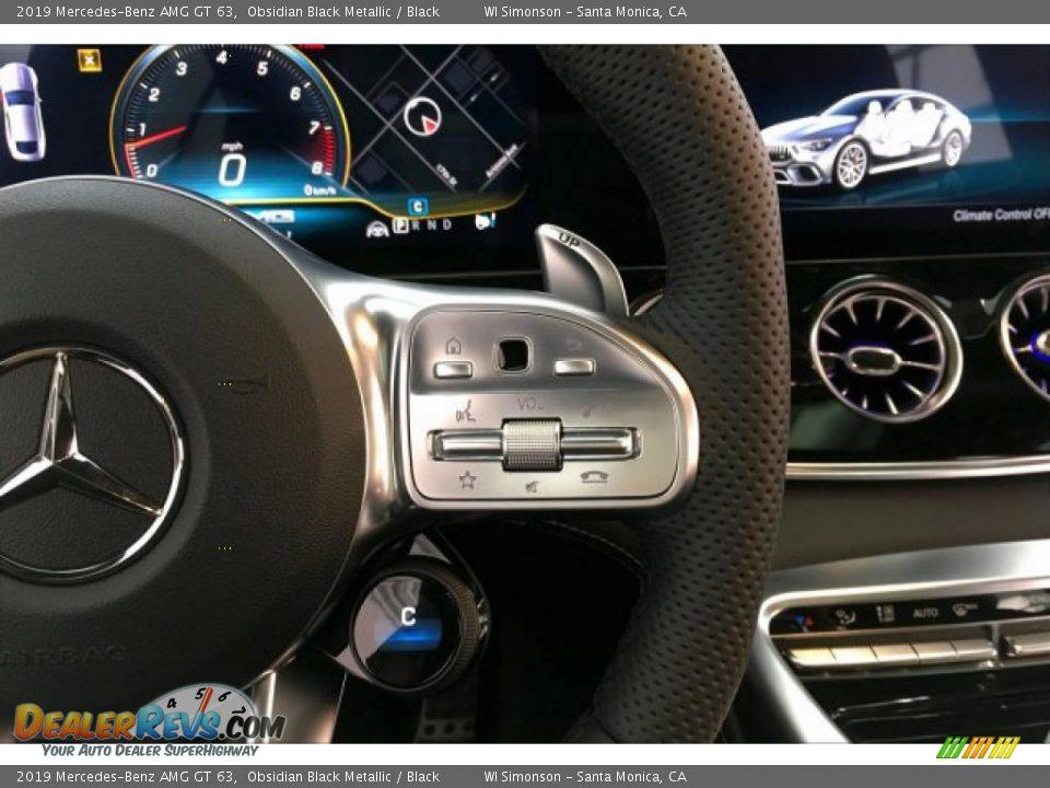 2019 Mercedes-Benz AMG GT 63 Obsidian Black Metallic / Black Photo #19