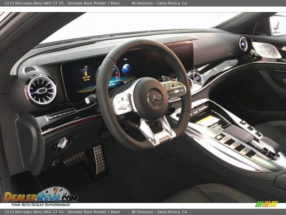 2019 Mercedes-Benz AMG GT 63 Obsidian Black Metallic / Black Photo #22
