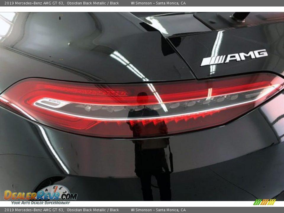 2019 Mercedes-Benz AMG GT 63 Obsidian Black Metallic / Black Photo #26