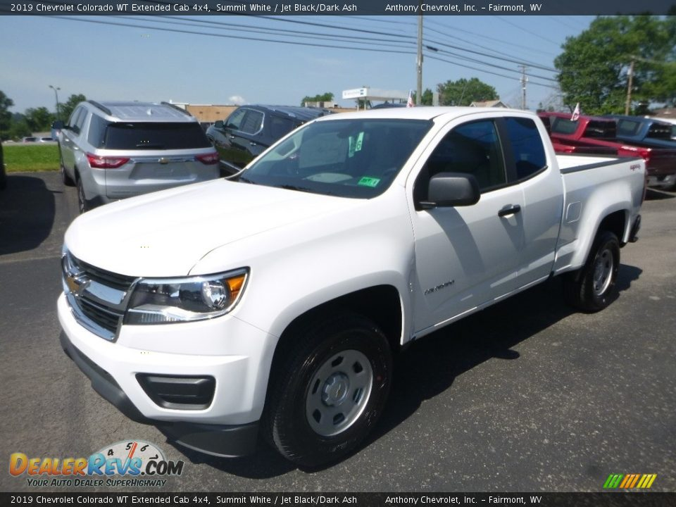 2019 Chevrolet Colorado WT Extended Cab 4x4 Summit White / Jet Black/Dark Ash Photo #7