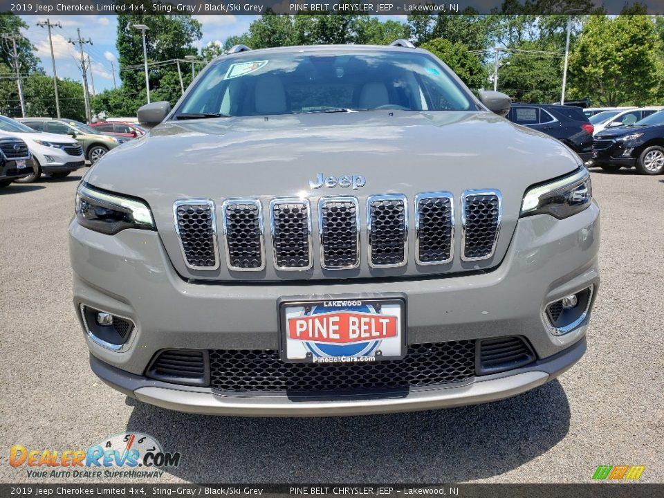 2019 Jeep Cherokee Limited 4x4 Sting-Gray / Black/Ski Grey Photo #2