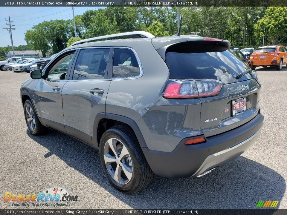 2019 Jeep Cherokee Limited 4x4 Sting-Gray / Black/Ski Grey Photo #4