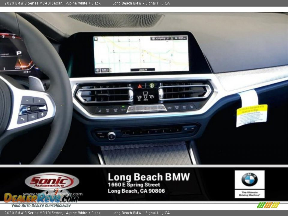 2020 BMW 3 Series M340i Sedan Alpine White / Black Photo #5