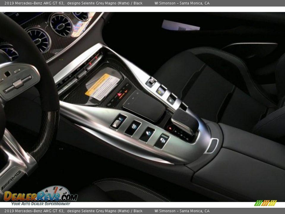 2019 Mercedes-Benz AMG GT 63 designo Selenite Grey Magno (Matte) / Black Photo #23