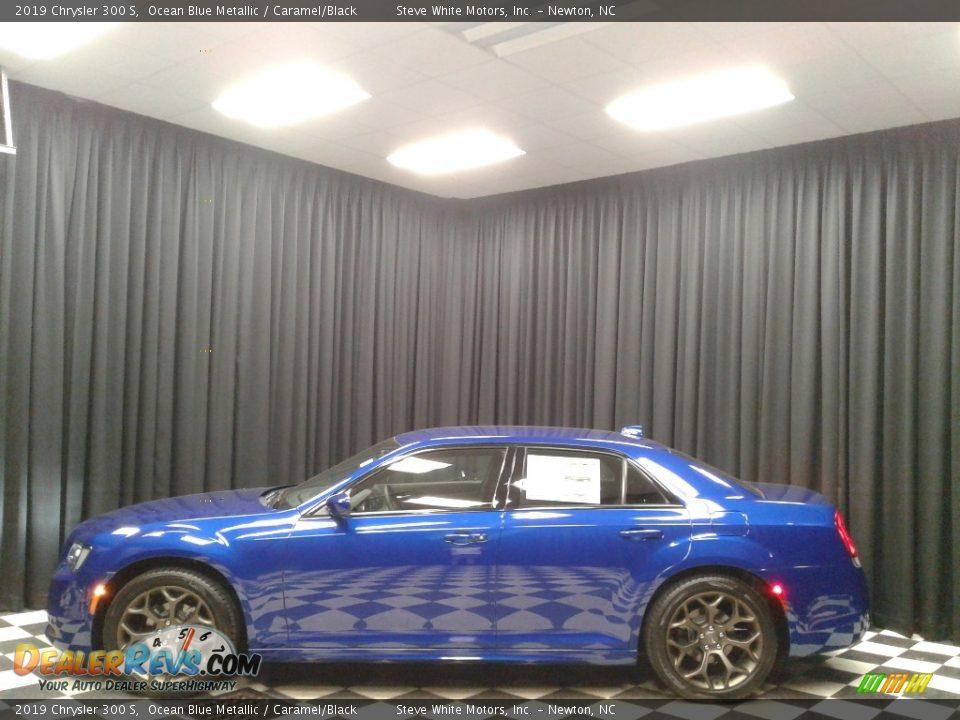 2019 Chrysler 300 S Ocean Blue Metallic / Caramel/Black Photo #1