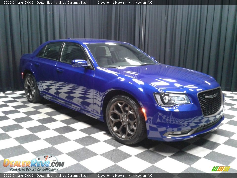 Ocean Blue Metallic 2019 Chrysler 300 S Photo #4