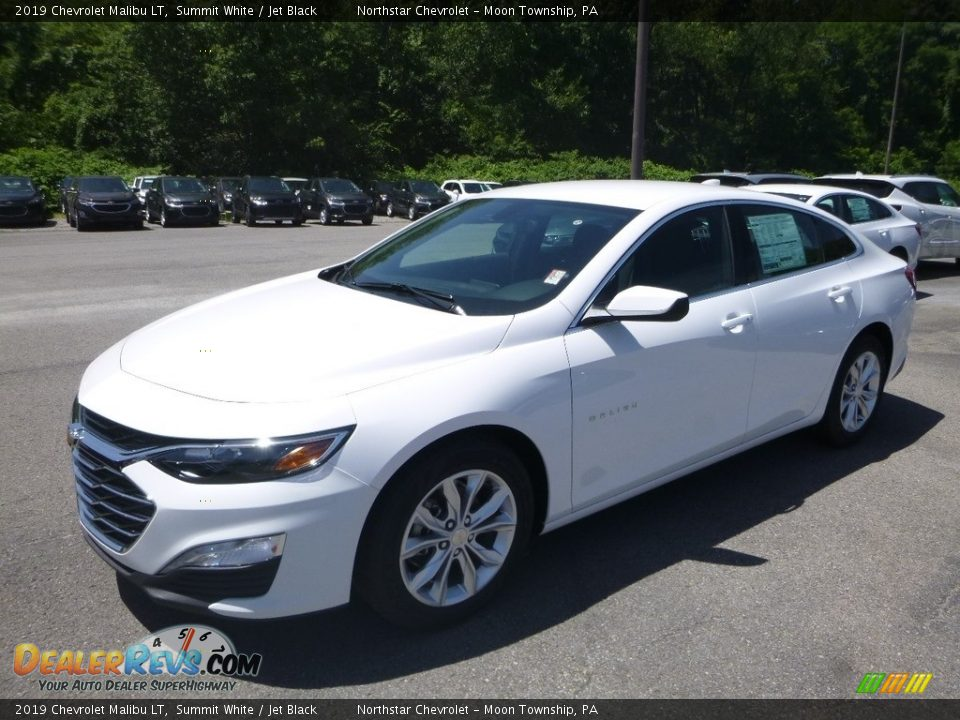 2019 Chevrolet Malibu LT Summit White / Jet Black Photo #1