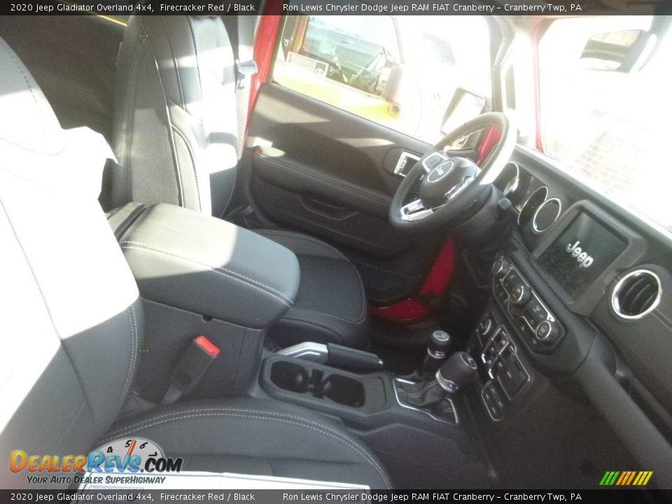 2020 Jeep Gladiator Overland 4x4 Firecracker Red / Black Photo #8