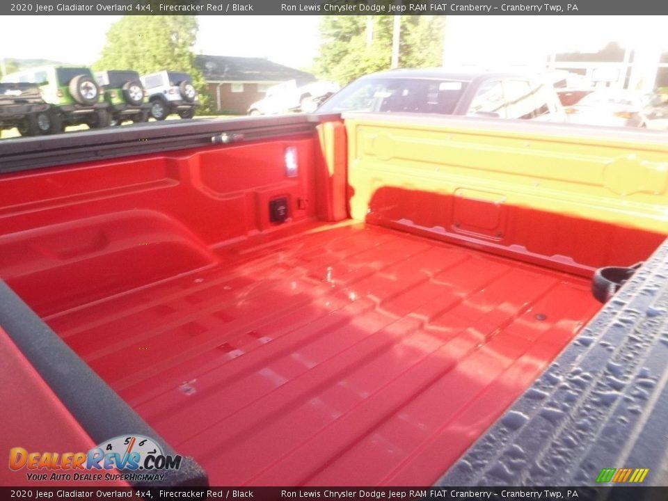 2020 Jeep Gladiator Overland 4x4 Firecracker Red / Black Photo #10