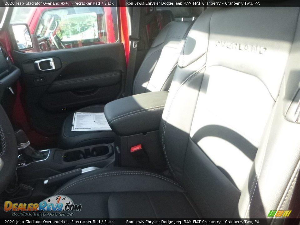 2020 Jeep Gladiator Overland 4x4 Firecracker Red / Black Photo #14