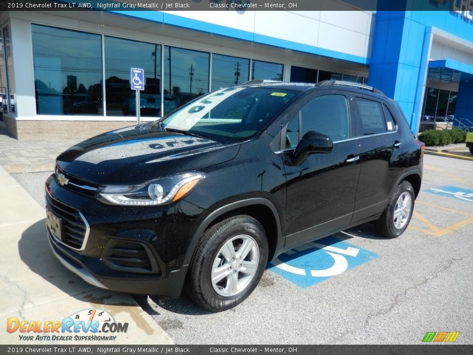 2019 Chevrolet Trax LT AWD Nightfall Gray Metallic / Jet Black Photo #1