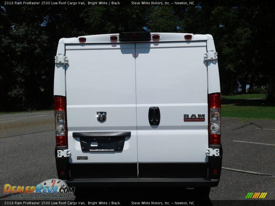 2019 Ram ProMaster 1500 Low Roof Cargo Van Bright White / Black Photo #7