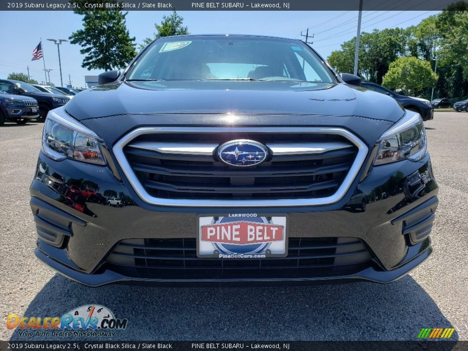 2019 Subaru Legacy 2.5i Crystal Black Silica / Slate Black Photo #2