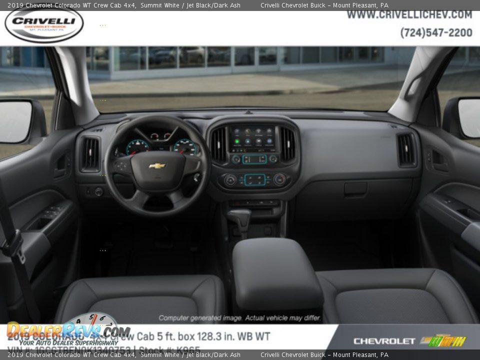 2019 Chevrolet Colorado WT Crew Cab 4x4 Summit White / Jet Black/Dark Ash Photo #5