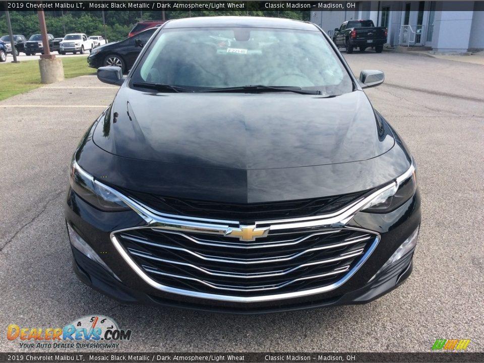 2019 Chevrolet Malibu LT Mosaic Black Metallic / Dark Atmosphere/Light Wheat Photo #2