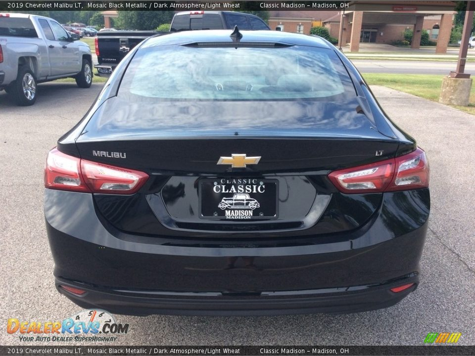 2019 Chevrolet Malibu LT Mosaic Black Metallic / Dark Atmosphere/Light Wheat Photo #6