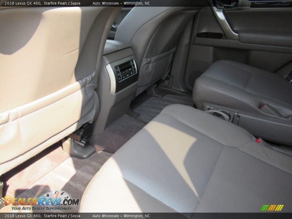 2018 Lexus GX 460 Starfire Pearl / Sepia Photo #10