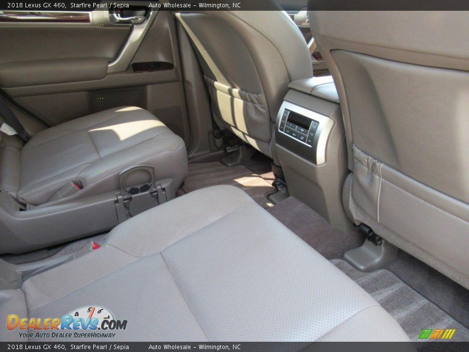 2018 Lexus GX 460 Starfire Pearl / Sepia Photo #12