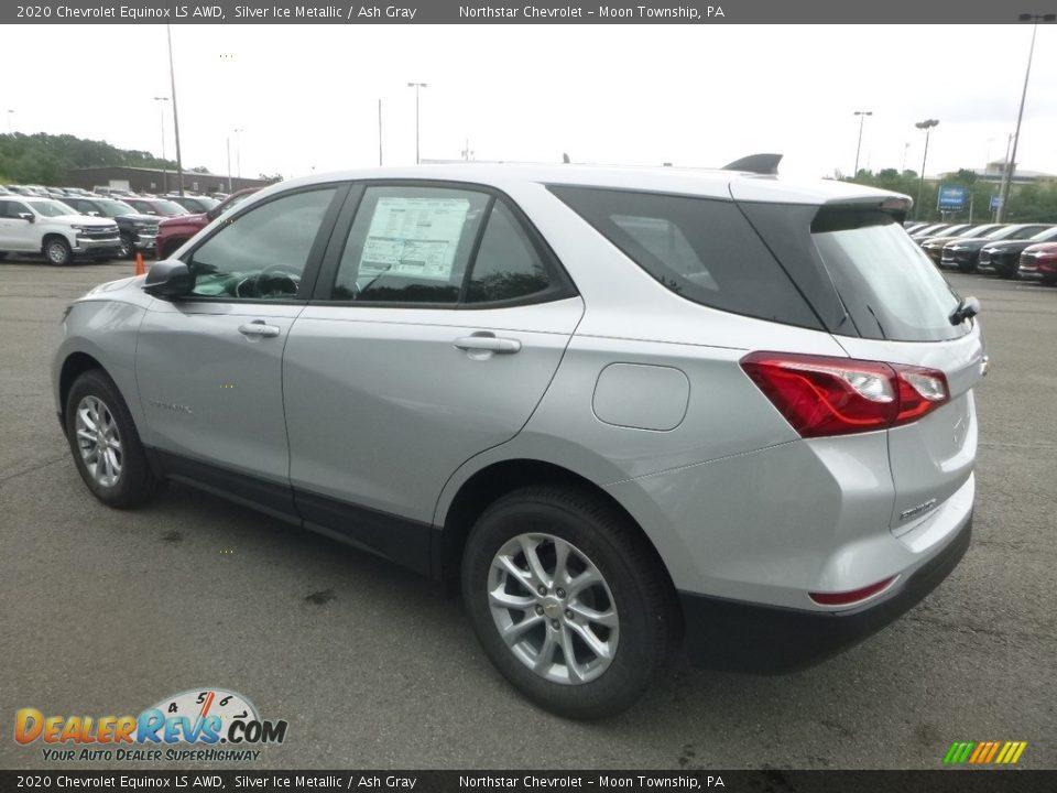 2020 Chevrolet Equinox LS AWD Silver Ice Metallic / Ash Gray Photo #3