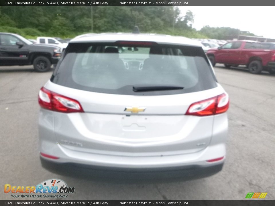 2020 Chevrolet Equinox LS AWD Silver Ice Metallic / Ash Gray Photo #4