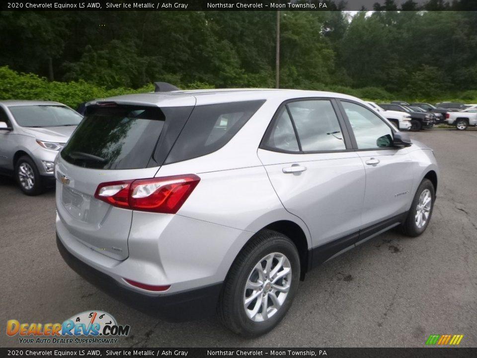 2020 Chevrolet Equinox LS AWD Silver Ice Metallic / Ash Gray Photo #5