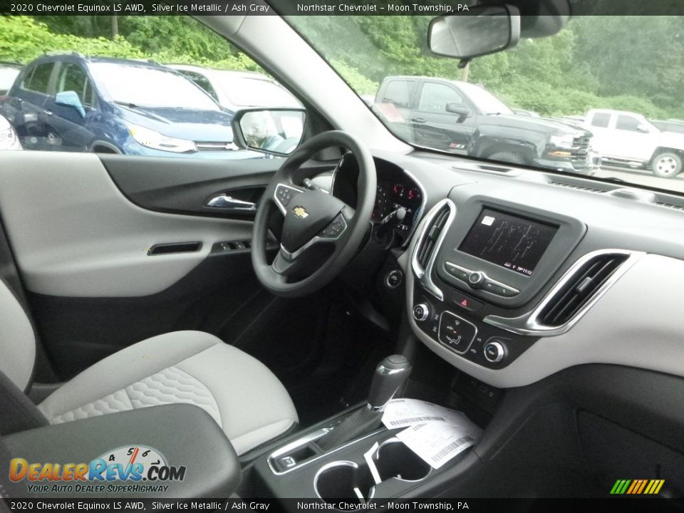 2020 Chevrolet Equinox LS AWD Silver Ice Metallic / Ash Gray Photo #11