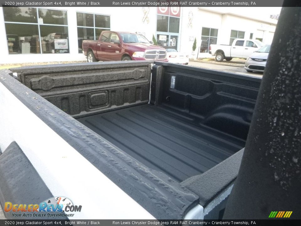2020 Jeep Gladiator Sport 4x4 Bright White / Black Photo #12