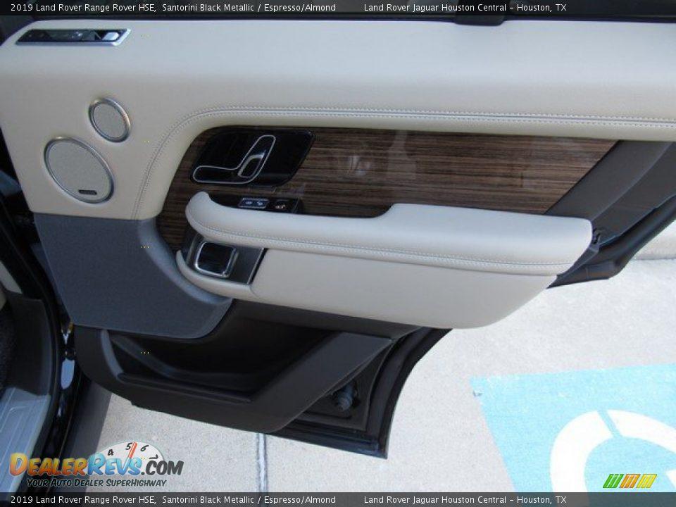 2019 Land Rover Range Rover HSE Santorini Black Metallic / Espresso/Almond Photo #22
