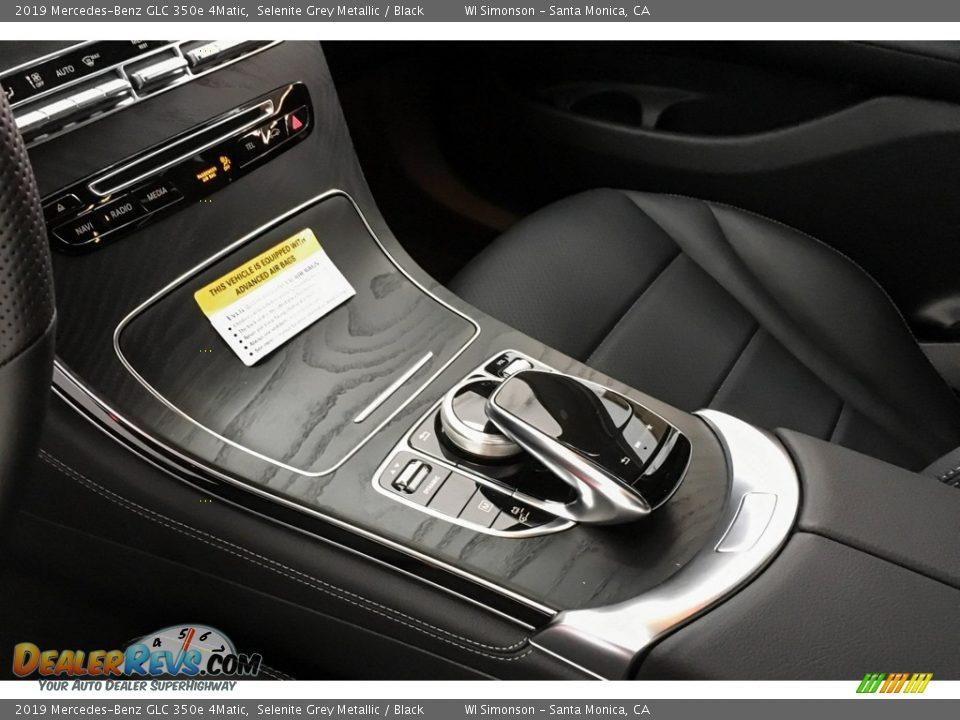 2019 Mercedes-Benz GLC 350e 4Matic Selenite Grey Metallic / Black Photo #7