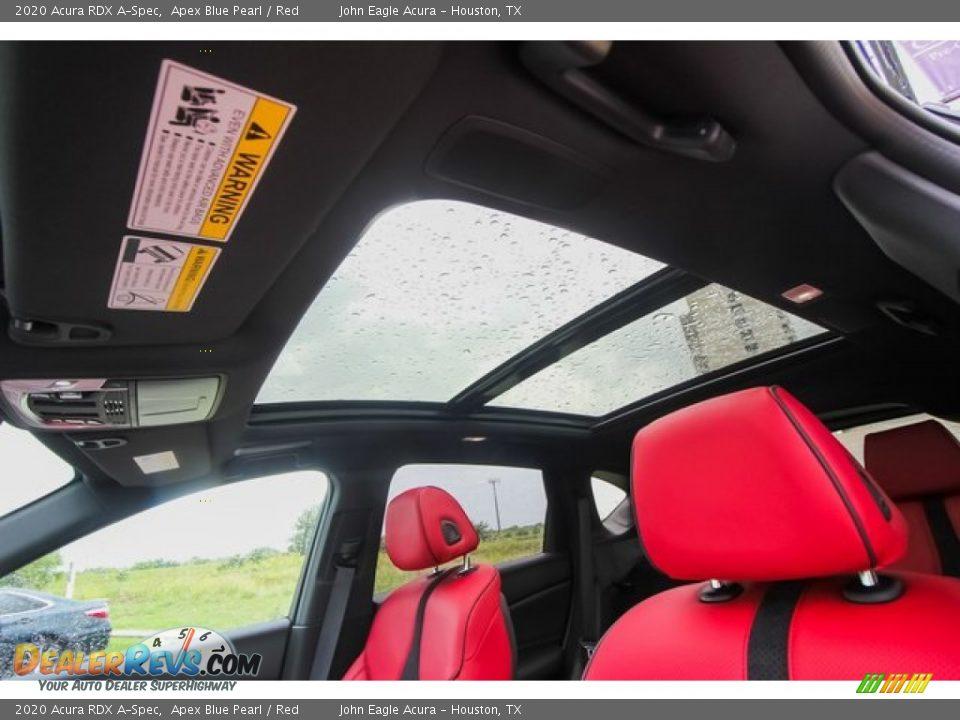 Sunroof of 2020 Acura RDX A-Spec Photo #14