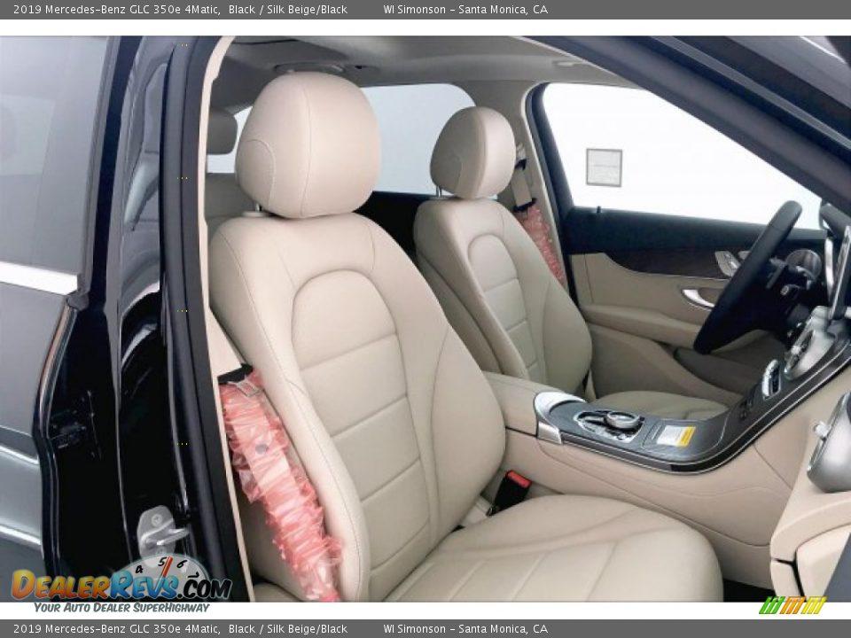 2019 Mercedes-Benz GLC 350e 4Matic Black / Silk Beige/Black Photo #5