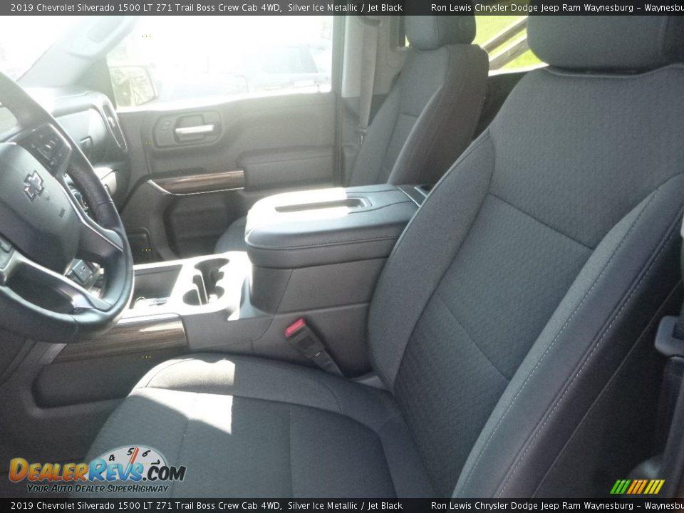 2019 Chevrolet Silverado 1500 LT Z71 Trail Boss Crew Cab 4WD Silver Ice Metallic / Jet Black Photo #12