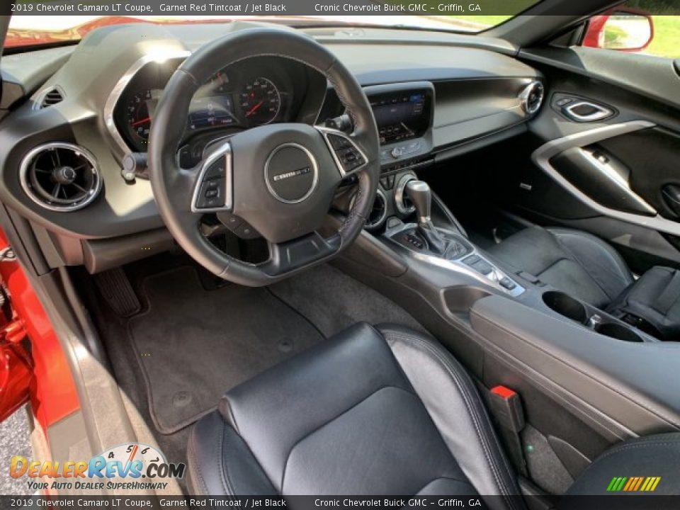 Jet Black Interior - 2019 Chevrolet Camaro LT Coupe Photo #19