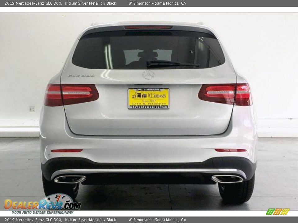 2019 Mercedes-Benz GLC 300 Iridium Silver Metallic / Black Photo #3