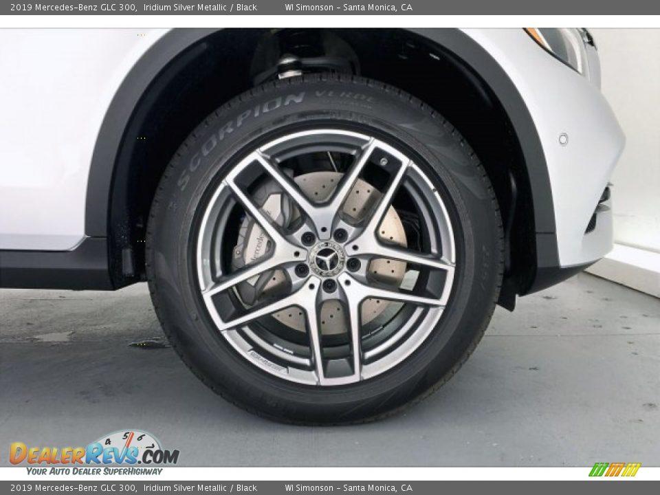 2019 Mercedes-Benz GLC 300 Iridium Silver Metallic / Black Photo #9