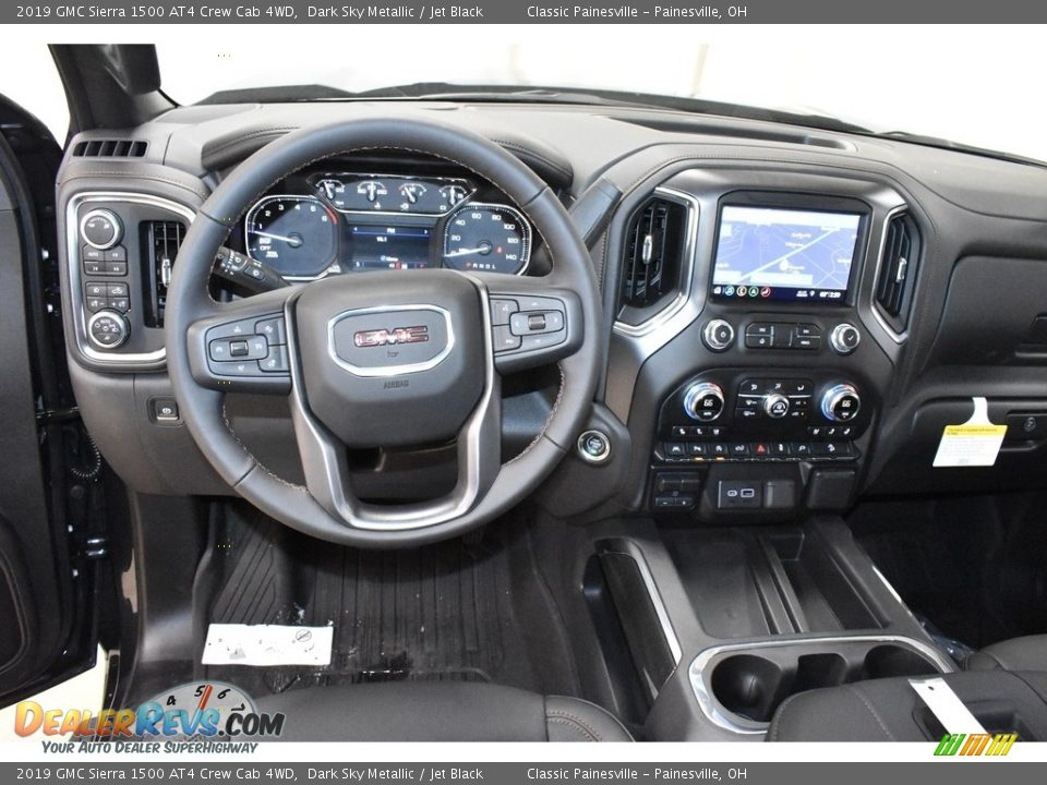 2019 GMC Sierra 1500 AT4 Crew Cab 4WD Dark Sky Metallic / Jet Black Photo #8