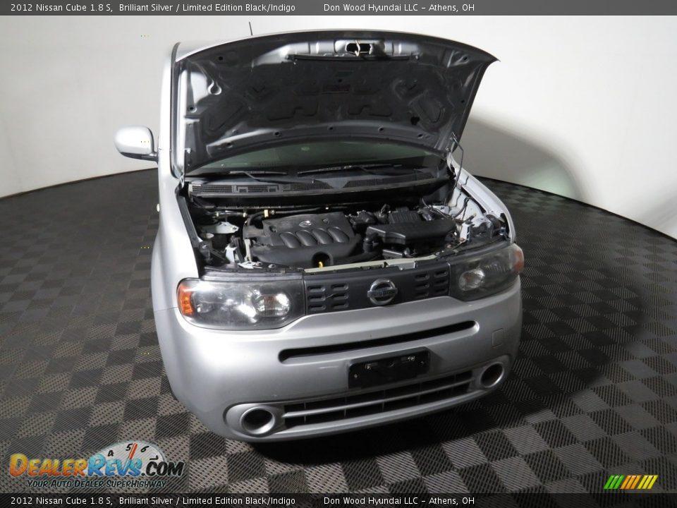 2012 Nissan Cube 1.8 S Brilliant Silver / Limited Edition Black/Indigo Photo #5
