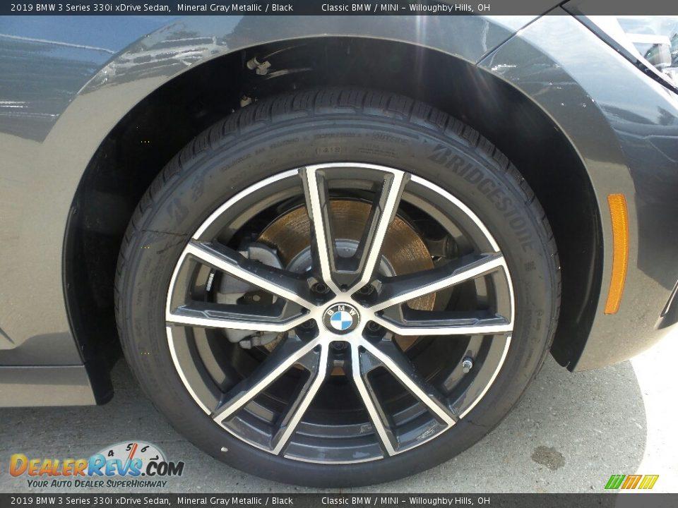 2019 BMW 3 Series 330i xDrive Sedan Mineral Gray Metallic / Black Photo #2