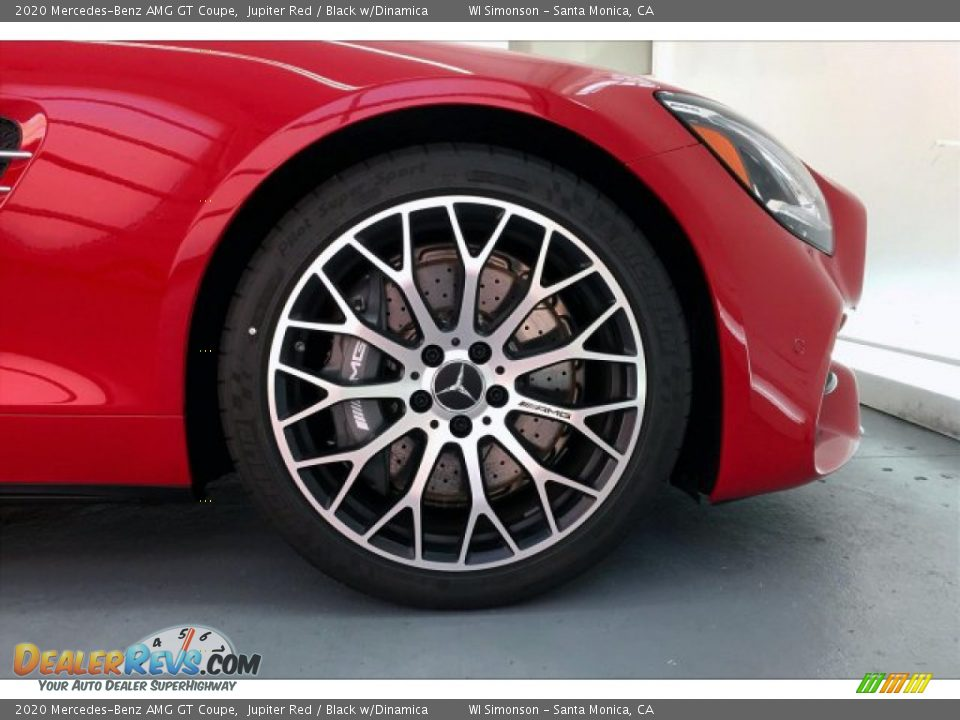 2020 Mercedes-Benz AMG GT Coupe Wheel Photo #8