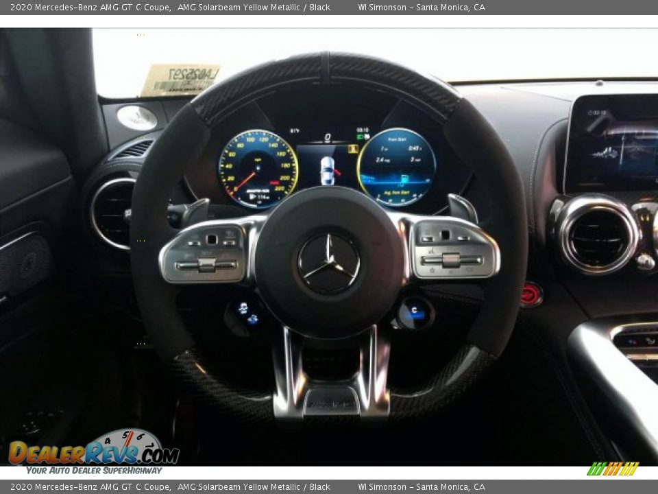 2020 Mercedes-Benz AMG GT C Coupe Steering Wheel Photo #4