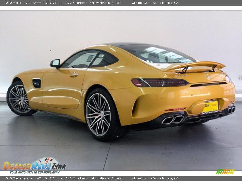 AMG Solarbeam Yellow Metallic 2020 Mercedes-Benz AMG GT C Coupe Photo #10