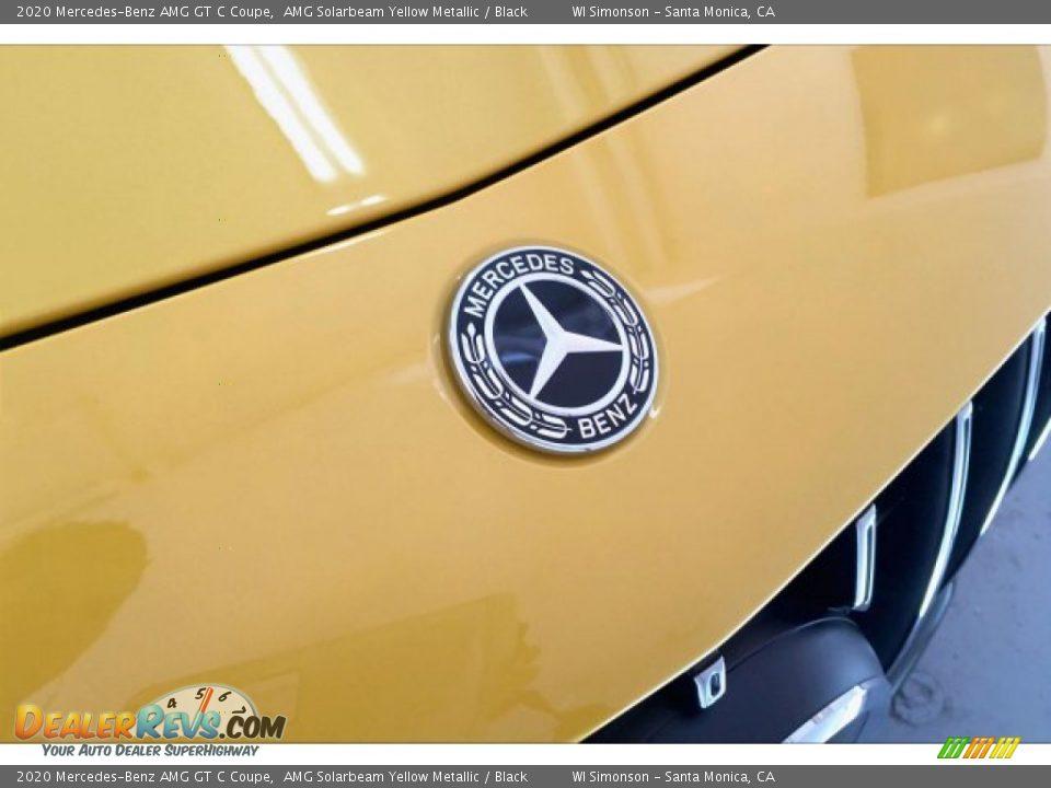 2020 Mercedes-Benz AMG GT C Coupe AMG Solarbeam Yellow Metallic / Black Photo #31
