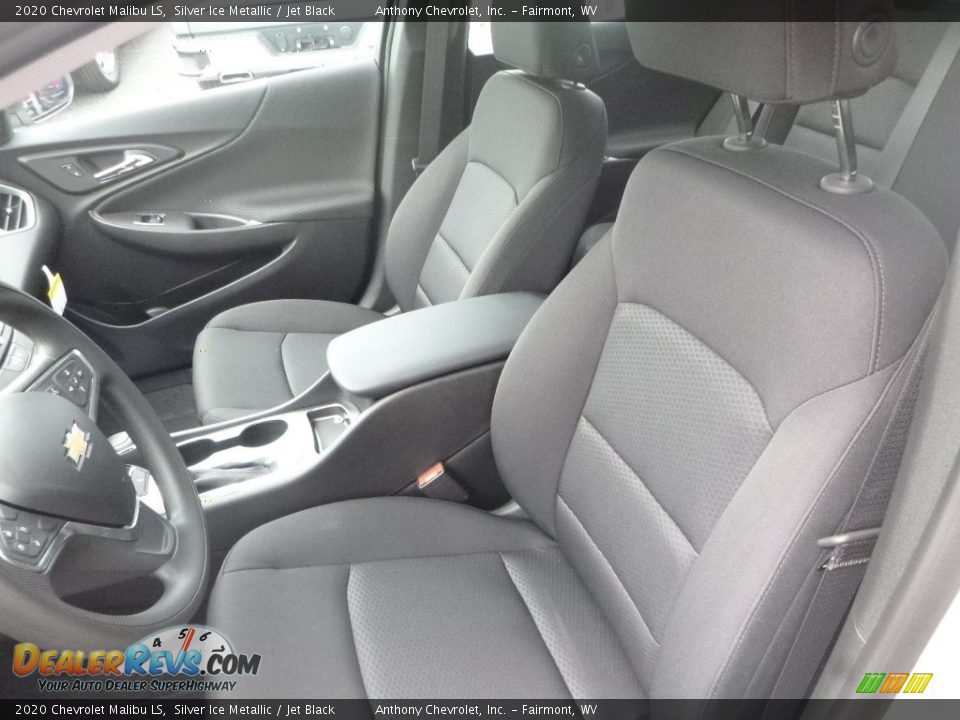 Jet Black Interior - 2020 Chevrolet Malibu LS Photo #14
