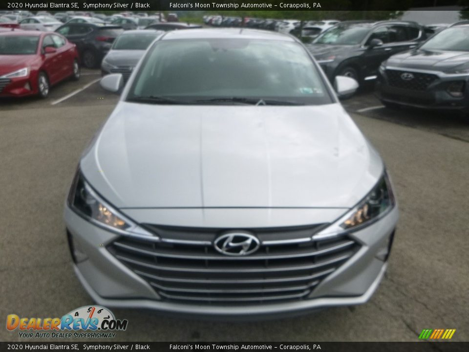 2020 Hyundai Elantra SE Symphony Silver / Black Photo #4