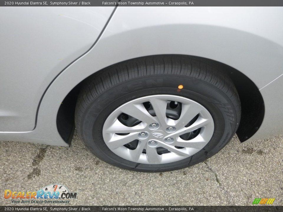 2020 Hyundai Elantra SE Symphony Silver / Black Photo #7