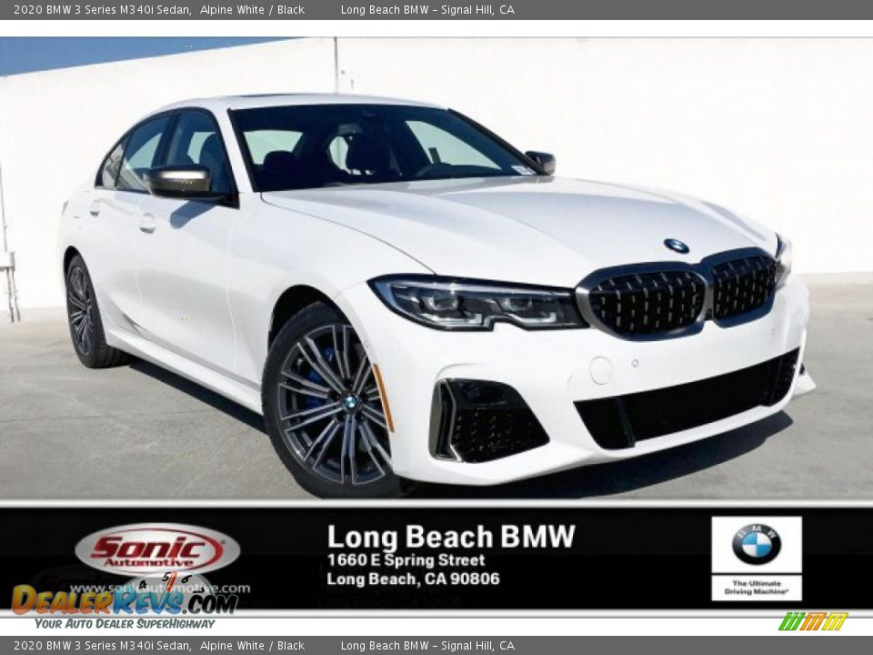 2020 BMW 3 Series M340i Sedan Alpine White / Black Photo #1