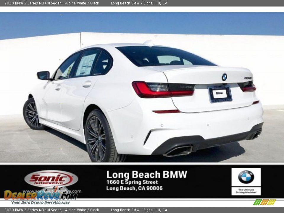 2020 BMW 3 Series M340i Sedan Alpine White / Black Photo #2