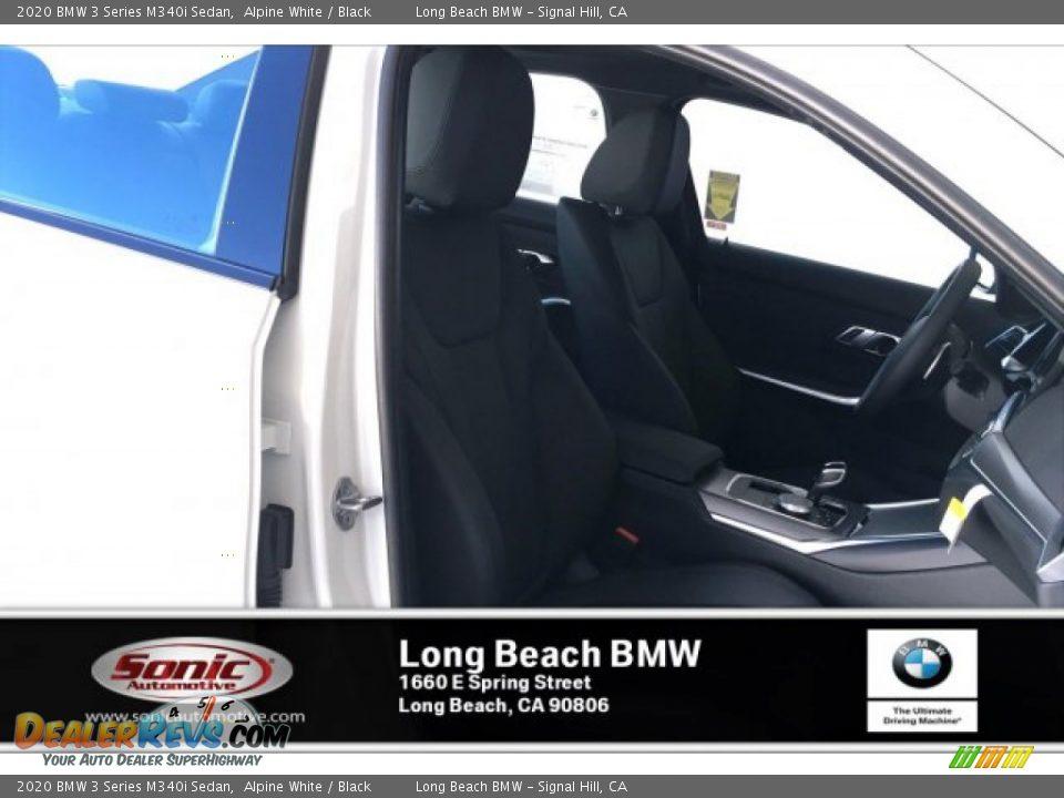 2020 BMW 3 Series M340i Sedan Alpine White / Black Photo #7