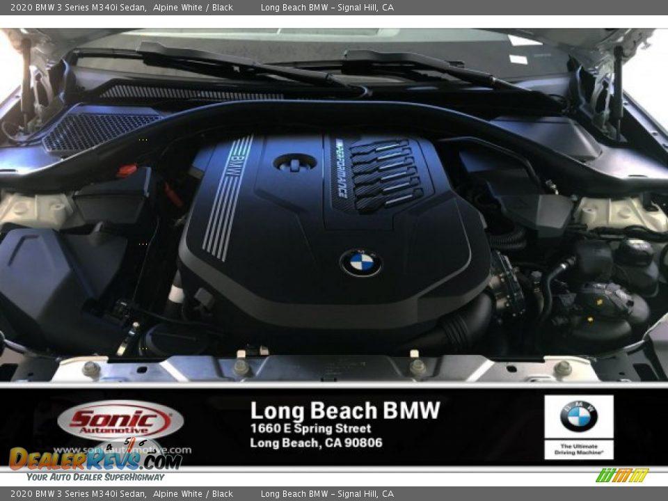 2020 BMW 3 Series M340i Sedan Alpine White / Black Photo #8